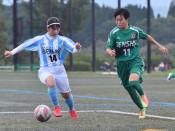 専大北上、女子8連覇 県高校サッカー