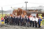 W杯遺産継承の新名所 釜石ラグビー神社が建立