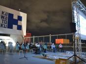 映画の街 夜空の下で上映会 盛岡・カワトク屋上で開催