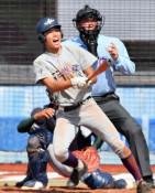 花巻東が初戦突破 高校野球東北大会、盛岡大付は猛追及ばず