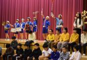 遠野北小創立50年、輝く歴史好演 鼓笛隊や「伝説」紹介