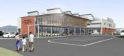 多世代集う「交流駅」 軽米町、23年度開設へ着工