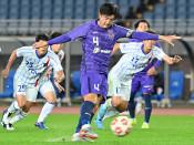 富士大4回戦ならず サッカー天皇杯、青森に1―2
