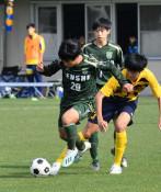 専大北上、遠野が決勝進出 高校サッカー県大会