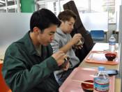 100円朝食 学生に活力 岩手大中央食堂、定食4種を格安で