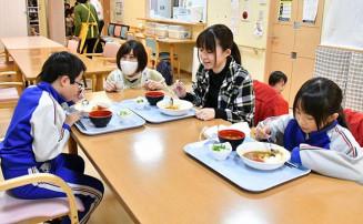 介護施設あお空で始まった子ども食堂。食事の提供に加え幅広い世代の憩いの場を目指す