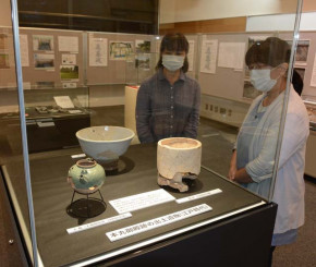 花巻城跡の発掘調査成果を披露する企画展