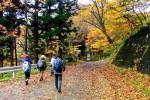 岩沢・水沢鉱山跡(北上市和賀町)=11月7日8時5分~