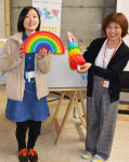 難病の子ども 遊べるおもちゃ 花巻の美術館に姉妹館が寄贈