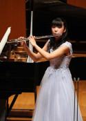 フルート中学の部 日本一 岡本さん(北上)学生音楽コンクール
