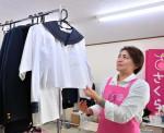 盛岡に学用品リユース店 滝沢の女性開業、家庭の支えに