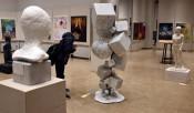 作品に映る若い感性 盛岡で高校総合文化祭美術工芸展