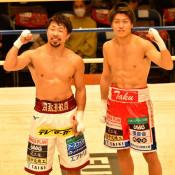 「激闘王」感謝の拳 後楽園ホールで八重樫さん引退報告