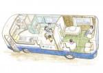 「病児保育バス」応援を きたかみ子育てネット、改装費募る