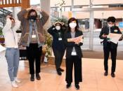 命守る「やさしい日本語」 盛岡で留学生と災害時訓練