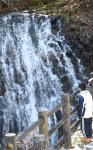 「鬼滅」効果?うろこ滝に注目 二戸・浄法寺、SNSで話題