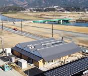 姉歯橋9年9カ月ぶり開通 陸前高田・気仙町、津波で流失