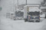 県南で記録的大雪 西和賀・湯田144センチ、一関・祭畤123センチ