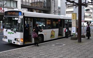 来年4月からの値上げが決まった盛岡中心市街地循環バス「でんでんむし」