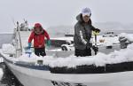 県内大雪、事故や運休 あすも荒天の恐れ