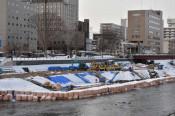 北上川で舟運再び 盛岡の実行委、6月に木造船運航企画