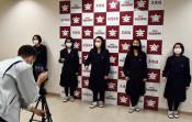 米国歌で五輪選手にエール 花巻北高生、リレー動画収録