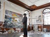現代アート、時超え共鳴 盛岡の歴史的建造物に展示