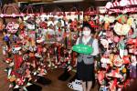 ひな飾り 華やぐ温泉郷 花巻の14施設、写真撮影スポットも