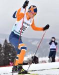盛岡南勢 ダブル入賞 全国高校スキー、距離男子10キロフリー