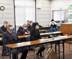 松江市の人々に震災の教訓を伝える陸前高田市側の参加者
