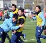 釜石SW 2強へ闘志 ラグビーTCL13日開幕