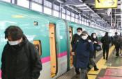 一ノ関-盛岡間で運転再開 東北新幹線、強風で遅れも