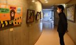 部活動の成果、力作ずらり 一戸高美術部書道部合同展
