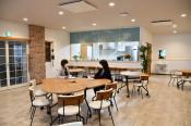にぎわい創出老人ホーム カフェ併設、北上に来月開所