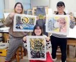 いざ、はんが甲子園 盛岡・杜陵高美術部、東北から唯一選出