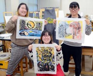 2年連続ではんが甲子園の予選を突破した(左から)伊藤舞さん、伊藤桜さん、唐沢歩未さん