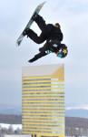 岩渕「完璧な1本を」 八幡平市で合宿、世界選手権に向け調整