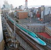 東北新幹線が全線再開 11日ぶり、直通運転復旧
