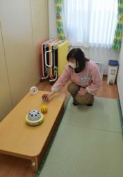 3月1日に開設するクラリス保育所の病児保育室