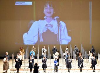 釜石市民とのんさんらが共演した復興応援コンサート