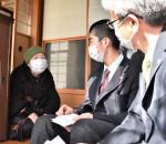 手作りたわし 後輩へ励まし 92歳高田高OG、卒業生へ記念品