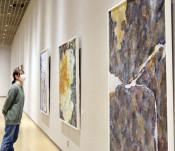 アート、4年の学び集大成 岩手大卒業制作展始まる