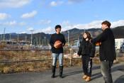 バスケ、大槌復興の光 「花道プロジェクト」で活気呼ぶ