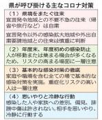 県、往来自粛を継続要請 4都県緊急事態宣言延長で