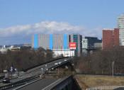 杜の大橋4車線化へ 盛南地区、交通量増え3月着手