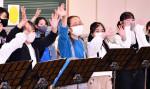 音楽で育む 台北との絆 奥州・真城小がオンライン交流