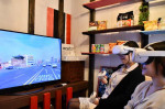 VRルームで海外旅行気分 大船渡・地域活性化総合研が企画