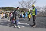 守ろう 通学路の安全 陸前高田、復興進み環境変化
