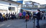 来場者に音楽で届ける元気 盛岡、神子田朝市でコンサート