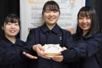 盛岡農高生が「さくらパン」 きょう販売会、石割桜がモチーフ